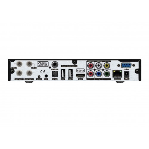 SatKing DVBS2-980CA Twin Tuner VAST Satellite TV Receiver