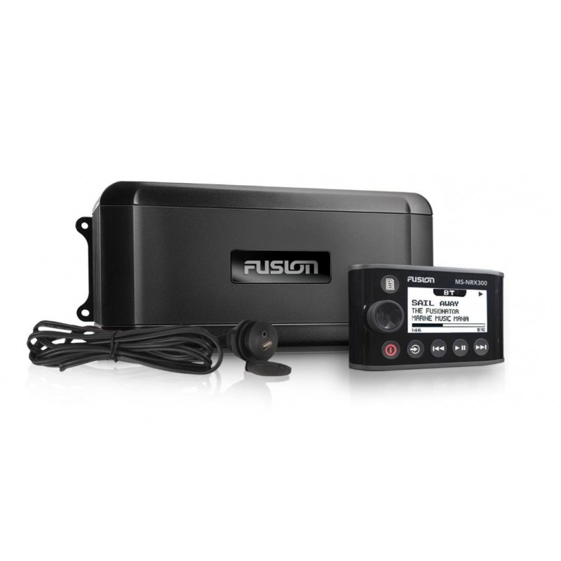 Fusion Marine Black Box with Wired Remote MS-BB300Ri