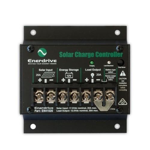Enerdrive 20 Amp Solar Charge Controller Regulator