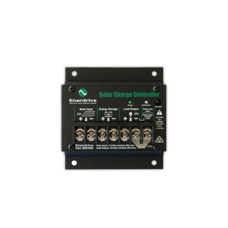 Enerdrive 20 Amp Solar Charge Controller Regulator