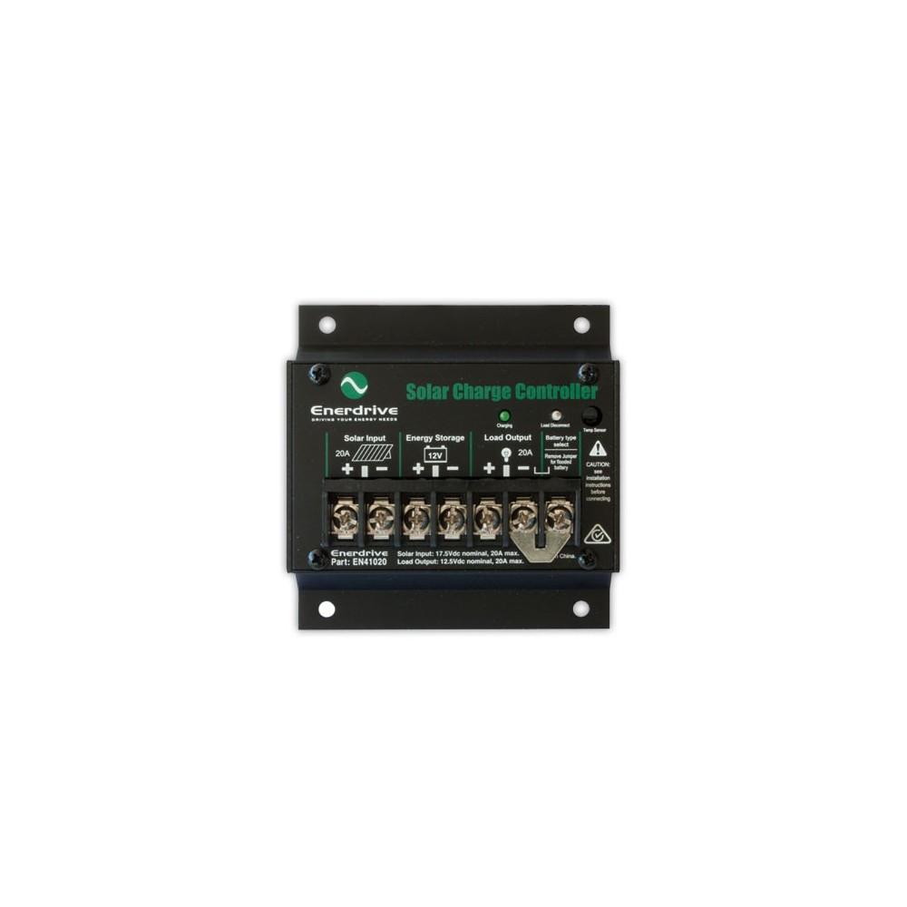 Enerdrive 20 Amp Solar Controller Regulator En41020 On Sale Now Charge Loading Zoom