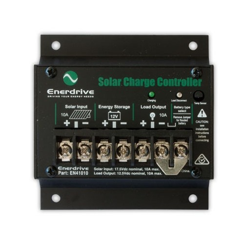 Enerdrive 10 Amp Solar Charge Controller Regulator