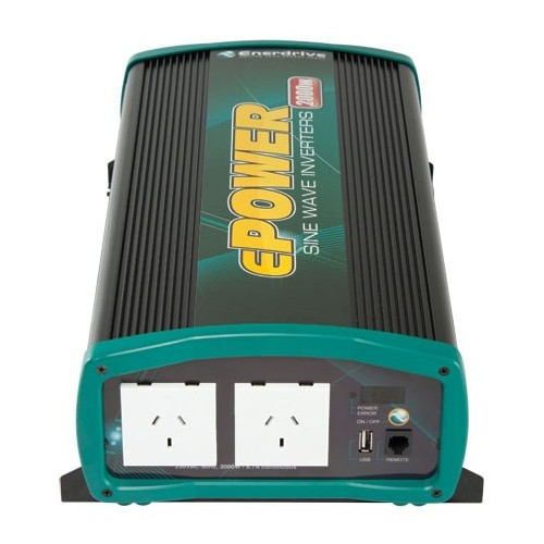 ePOWER 2000 Watt Pure Sine Wave Inverter