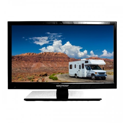 "Majestic 12 Volt LED TV 15.6"" with USB & PVR"