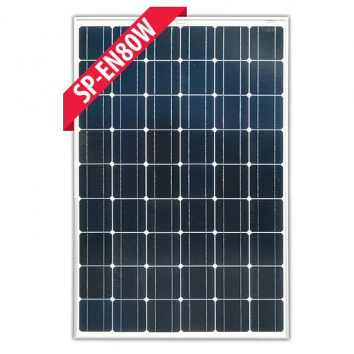 Enerdrive 80 Watt Fixed Solar Panel