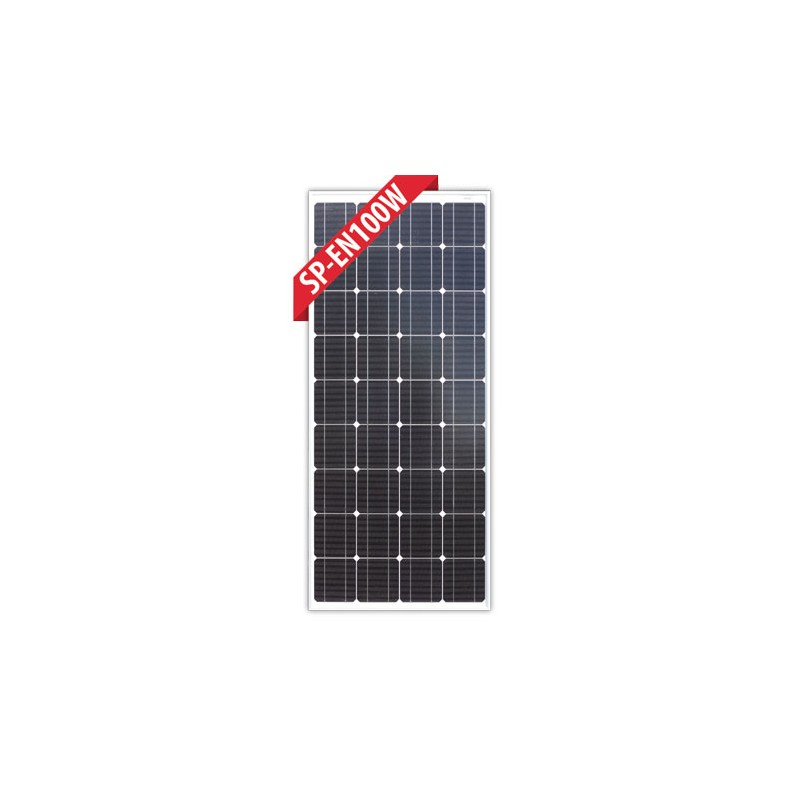 Enerdrive 100 Watt Mono Crystalline Fixed Solar Panel On