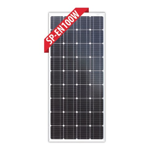 Enerdrive 100W Mono-Crystalline Fixed Solar Panel