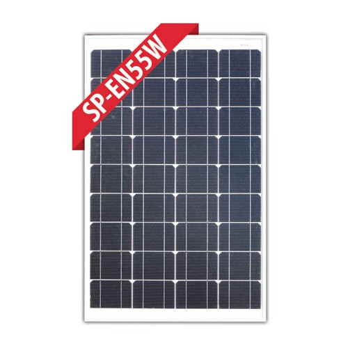 Enerdrive 55W Mono-Crystalline Fixed Solar Panel