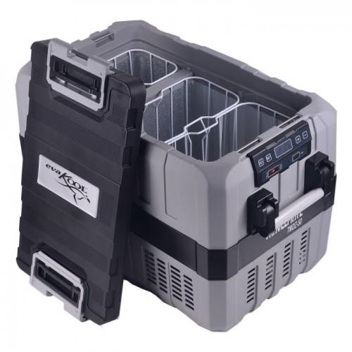 Evakool 43 Litre Travelmate TMDZ-50 Dual Zone Fridge/Freezer