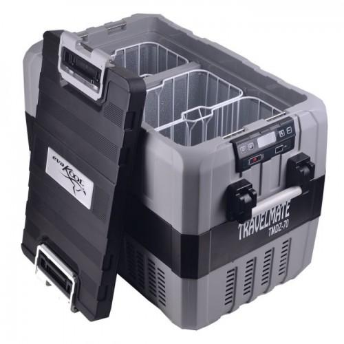Evakool 62 Litre Travelmate TMDZ-70 Dual Zone Fridge/Freezer