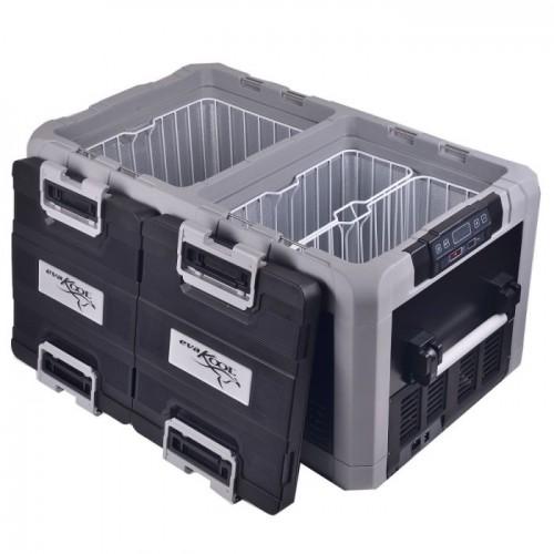 Evakool 96 Litre Travelmate TMDZ-95 Dual Zone Fridge/Freezer