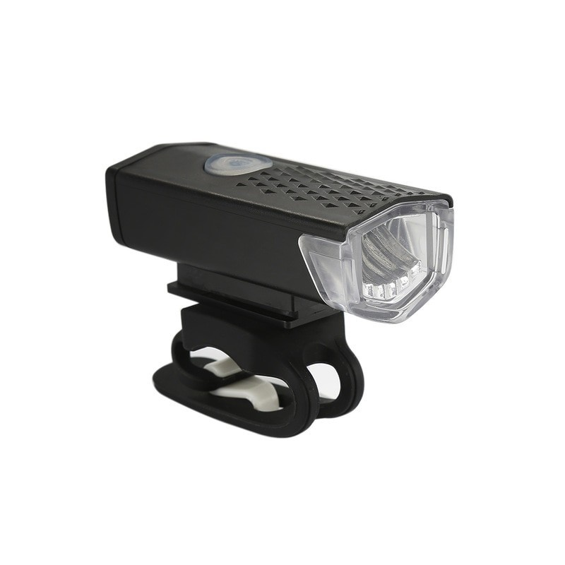 Bike Light 300 Lumens with Rechargable USB socket
