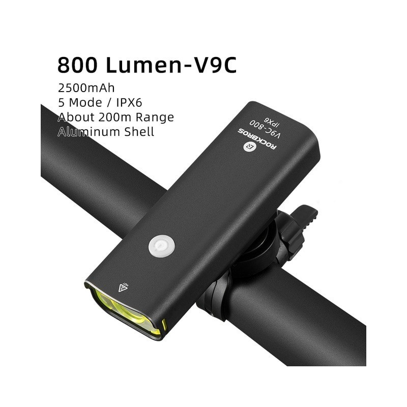 Bicycle Light USB Rechargeable LED 2000mAh