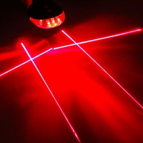 High Quality bicycle laser lights LED Flashing Lamp Tail Light Rear Cycling Bicycle Bike Safety Warning Led light modes