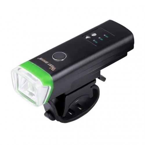 WEST BIKING Front Bicycle Light USB Rechargeable LED Bike Light Waterproof Cycling Headlight Climbing Safety Flashlight Lamps