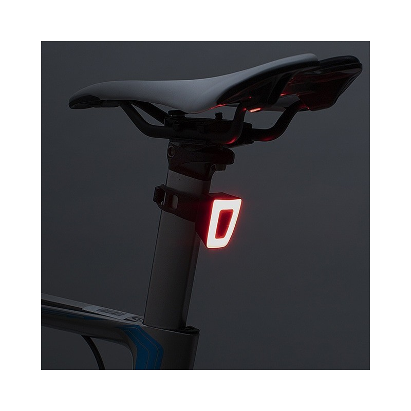 ROCKBROS Bike Light Waterproof Cycling Helmet Taillight Lantern For Bicycle LED USB Rechargeable Safety Night Riding Rear Light