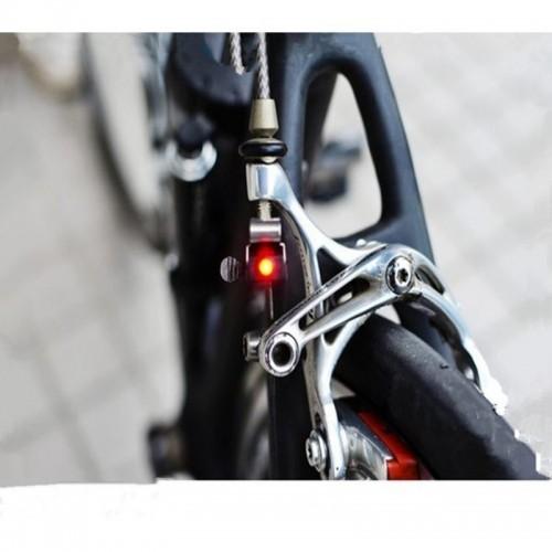 Mini Brake Bike Light Mount Tail Rear Bicycle Light Cycling LED Light High Brightness Waterproof LED lamp Cycling Accessories
