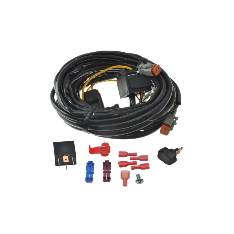 Light force Custom Built Driving Light Wiring Harness Driving light