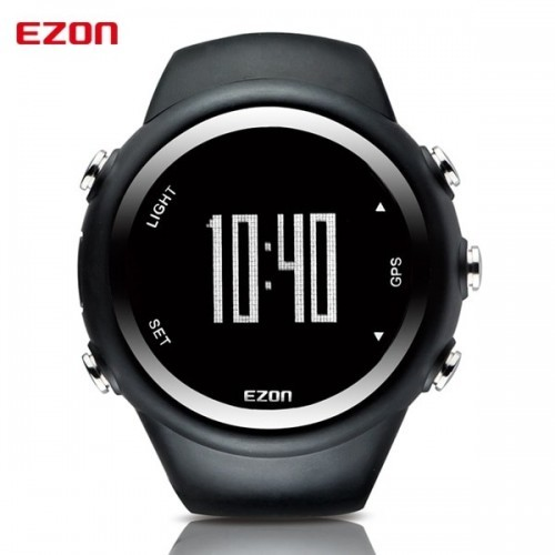 Men's GPS Running Watch With Speed Pace Distance Calorie burning Stopwatch Waterproof 50M