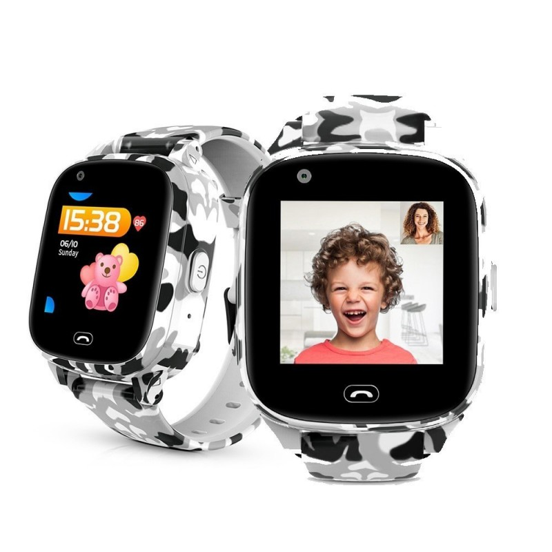 Kids Smart 4G Phone Smart Watch GPS with WIFI SOS Call Video Call Remote Monitoring 650mah