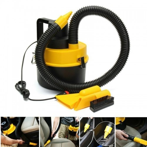 12V High Suction Vaccum Cleaner For Car Wet And Dry Dual-use perfect for Boat and RV