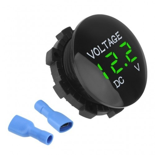 Voltage Led Display For Car, Motorhome, Caravan Motorcycle DC 12V-24V Mini Digital Voltmeter Ammeter