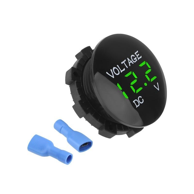 Voltage Led Display For Car, Motorhome, Caravan Motorcycle DC 12V-24V Mini Digital Voltmeter Ammeter