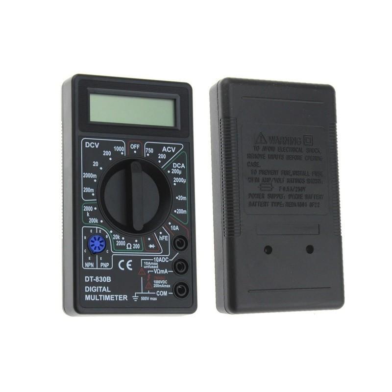 LCD Digital Multimeter Portable DC Voltage Diode Frequency Multi tester Handheld Volt Tester Test Current Ohmmeter