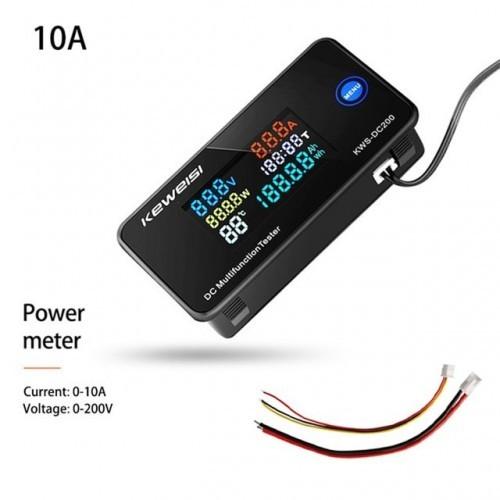 KWS Digital Voltmeter Ammeter DC 200V 0-100A Voltmeter Current Meter Tester