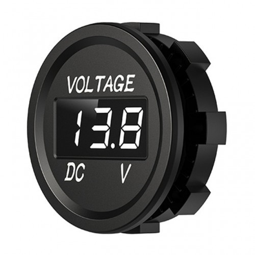 Brand New D1 Digital Panel Voltmeter LED Display Waterproof Voltage Meter Universal for Car Auto Motorcycle Yacht Boat ATV Truck