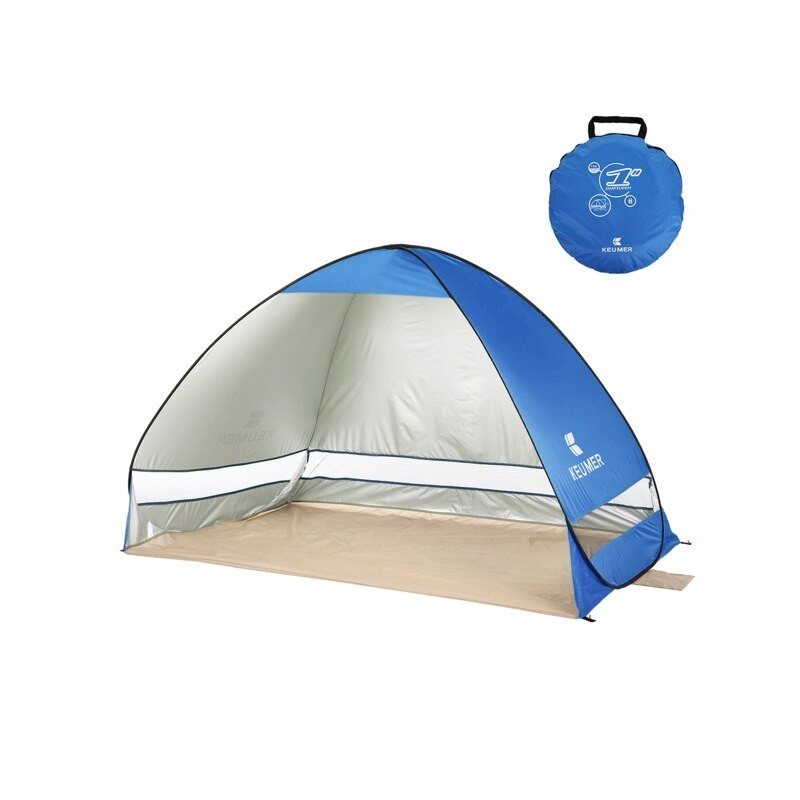 KEUMER Automatic Pop-up Beach Tents Outdoor Camping Tent Travel Waterproof Anti UV Sun Shelter Cabana Tent for Fishing Hiking