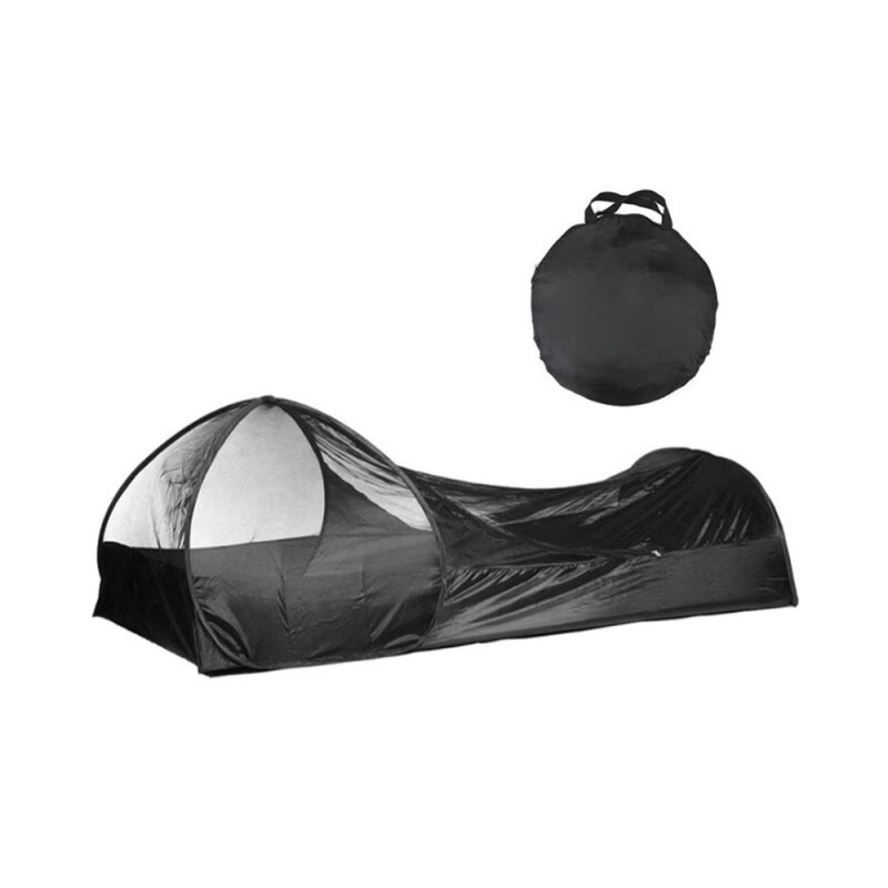 Ultra-light automatic pop-up camping tent. Anti-mosquito awning. Outdoor rest tent. Beach leisure net