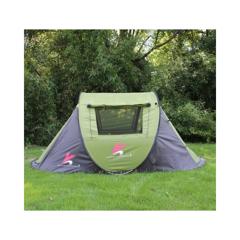 Outdoor Automatic Quick Opening Camping Tent Portable Lightweight Warmth Windproof Hiking Tents Double Layer Backpacking Tents