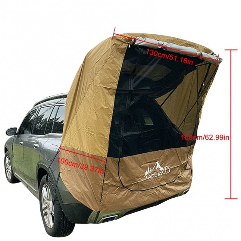 Car Trunk Tent Sunshade Rainproof Tour Barbecue Outdoor Self-driving Tour Barbecue Camping Car Tail Extension Tent