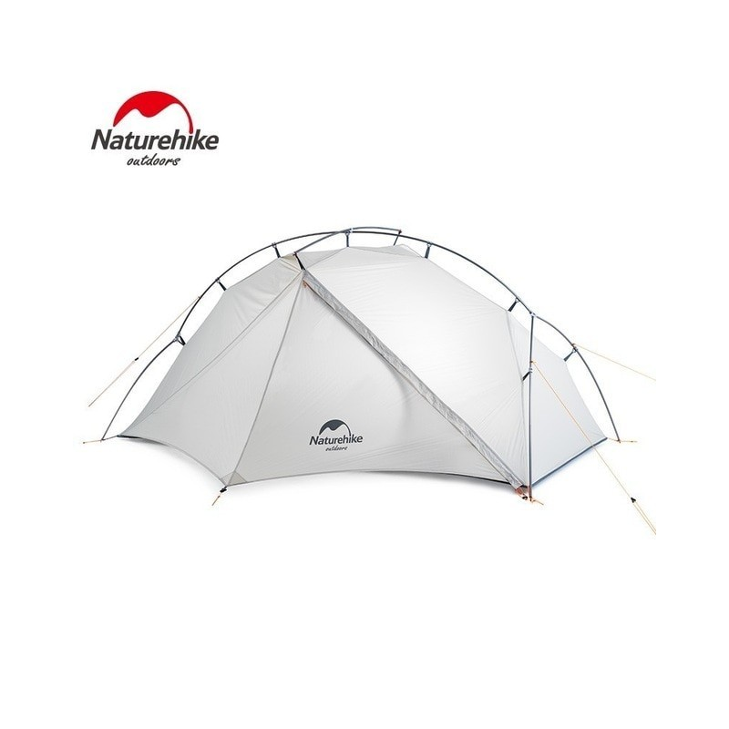 Naturehike 2019 New Arrive Vik Series Ultralight Waterproof White Outdoor Camping Tent For 1 Person Tent