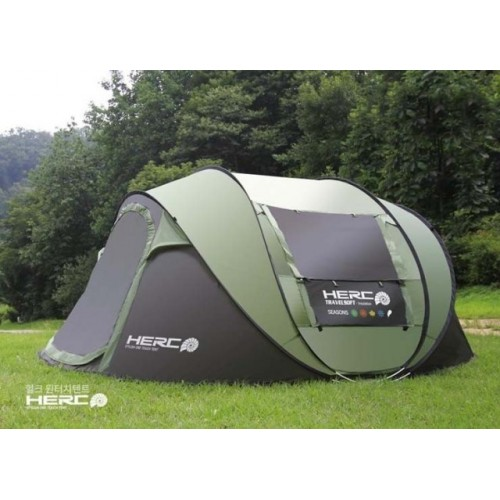 Ultralarge 4-5 Person Pop Up Fully Automatic Waterproof Self-Driving Tour Tent Camping Beach Party Tent Barraca