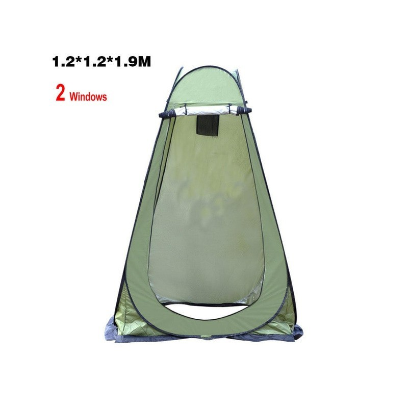 Portable Privacy Shower Toilet Camping Pop Up Tent Camouflage Anti UV function Outdoor Dressing Tent photography Tent X172G
