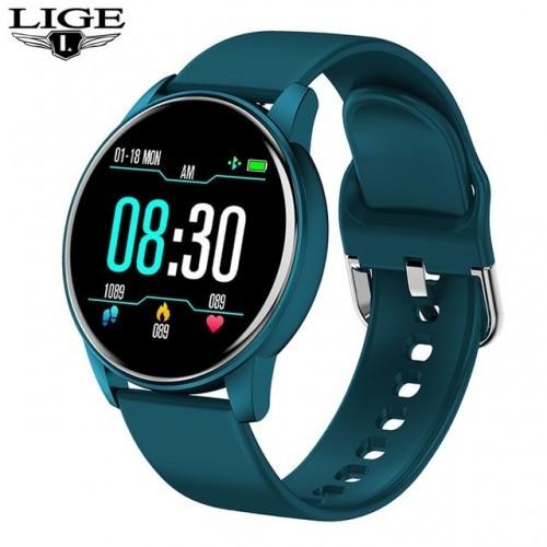 LIGE 2020 Fashion Smart Watch Ladies Heart Rate Blood Pressure Multifunctional Sport Watch Men Woman Waterproof Smartwatch Women