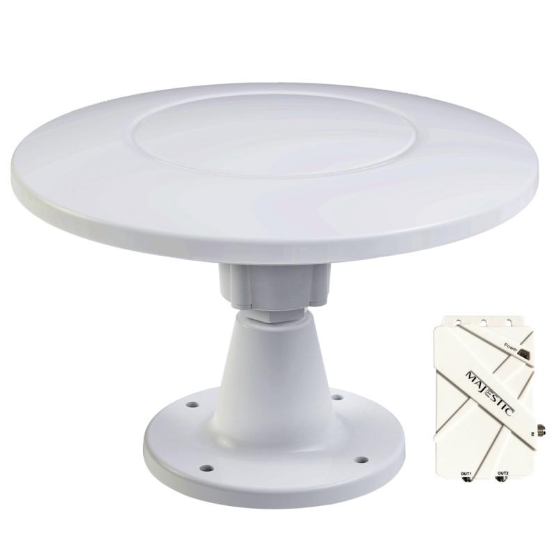 Majestic UFO X Marine and RV TV Antenna
