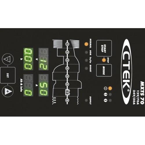 CTEK MXTS 70 50 - 50 Amp Battery Charger