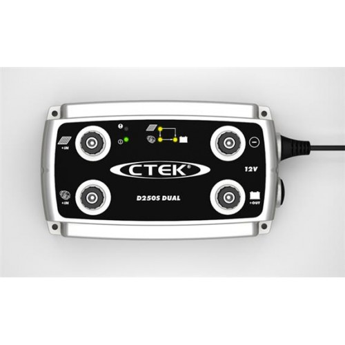 CTEK D250S Dual 20 Amp Battery Charger