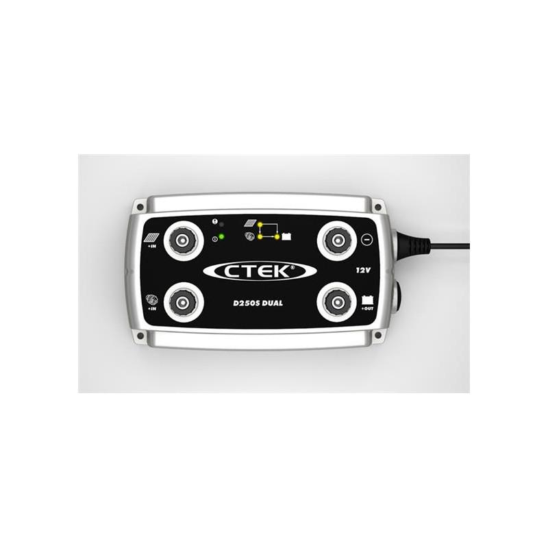 CTEK D250S Dual 20 Amp Battery Charger