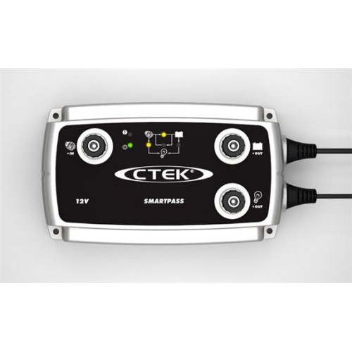 CTEK Smart Pass Battery Charger