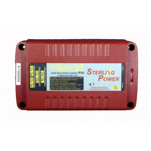 Sterling Pro Sport 5, 10 Amp 12V or 24V Battery Charger