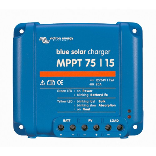 Victron Blue Solar MPPT 75/15 15 Amp Solar Charge Controller Regulator
