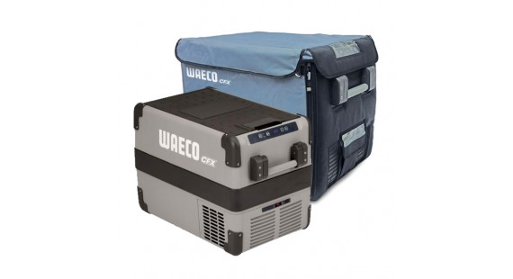 Waeco CFX40 Portable Fridge with Cover On Sale Now and Free Freight Best Price Online