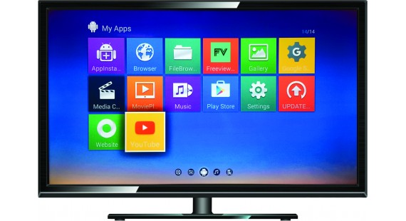 12 volt smart led tv by rv media perfect for your caravan. Black Bedroom Furniture Sets. Home Design Ideas