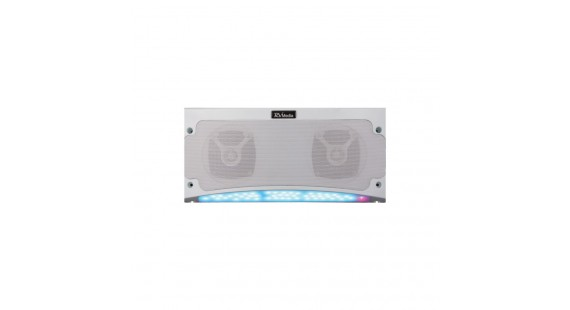 RV Media RGB Bluetooth Weatherproof Speaker Light all in one package - LED Awning Light and Speaker - On Sale now
